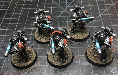 Horus Heresy Dark Angels Tactical Support Squad WIP