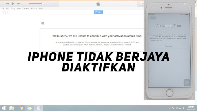 iPhone Anda Tidak Boleh Diaktifkan? Ini Caranya?