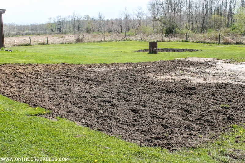 Breaking ground in the garden by rototilling a new area! | On The Creek Blog