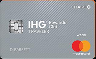 IHG Rewards Club Traveler Credit Card No Annual Fee (Highest 100,000 Bonus IHG Points)