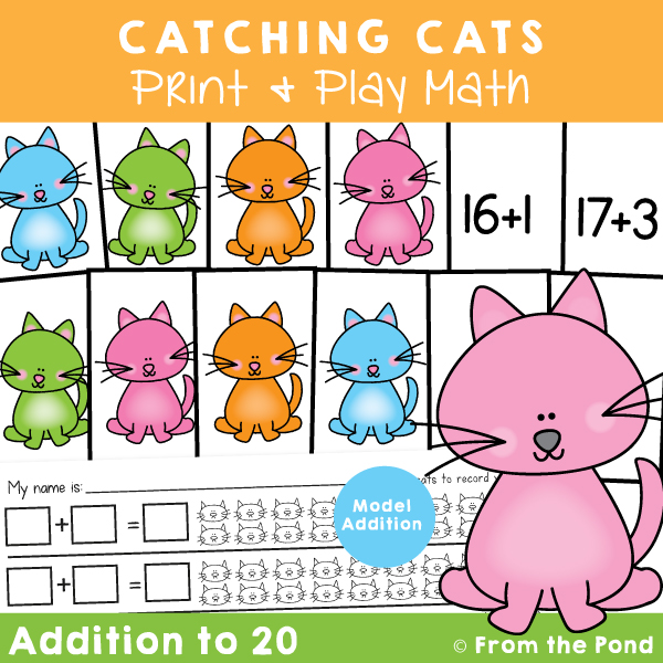 Addition to 20 Activity with Cats