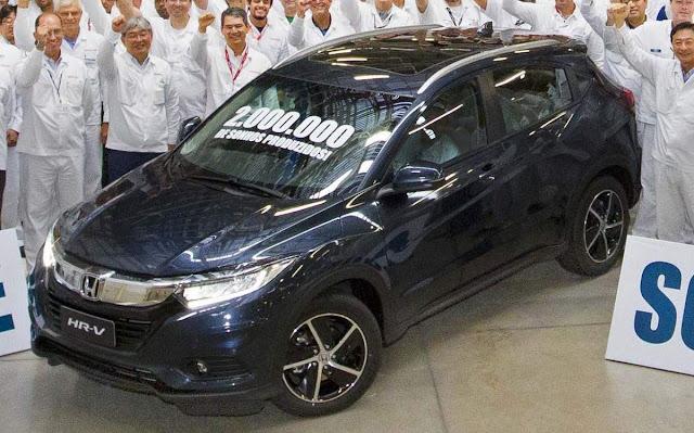 Honda comemora 2 milhões de carros produzidos no Brasil