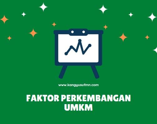 Faktor Perkembangan UMKM