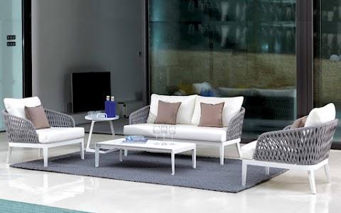 Bộ Sofa Ngoài Trời Mây nhựa TFF-001