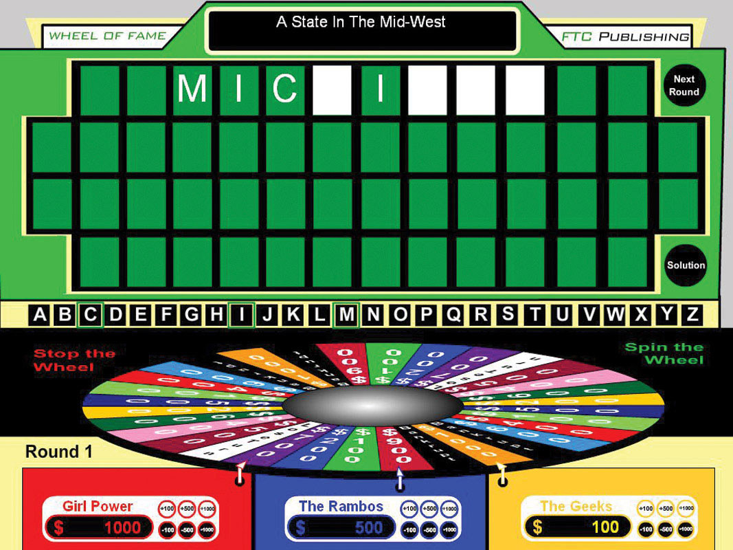 Teacher 39 s market enter to win tv game shows for teachers for Online wheel of fortune template