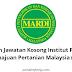 Permohonan Jawatan Kosong Institut Penyelidikan Dan Kemajuan Pertanian Malaysia (MARDI).