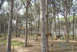 Masos de Pals, Parc d'Aventura.