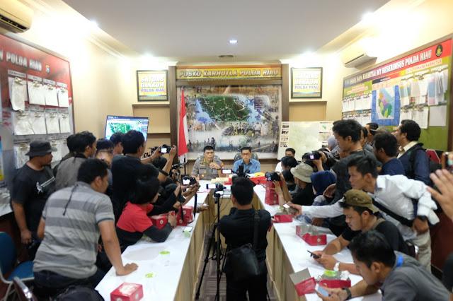 Soal Karhutla, Penyidik Polda Riau Tetapkan TSK Korporasi PT. SSS