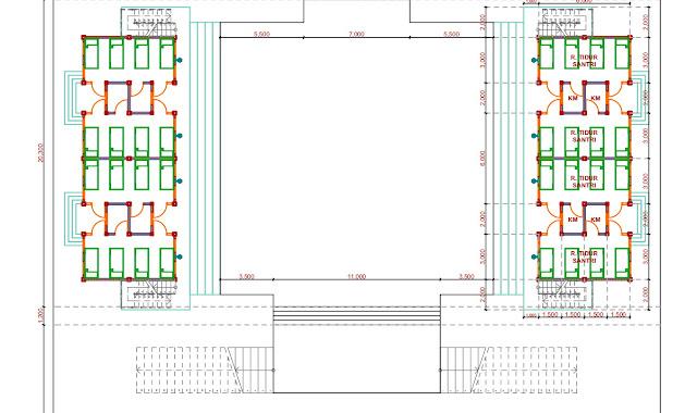 Jasa Desain Kamar Pondok Pesantren di Bangkalan