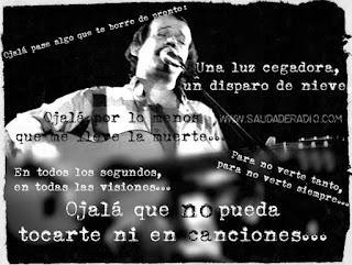 Frases de la canción Ojalá de Silvio Rodríguez