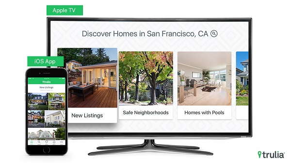 Trulia launches Apple TV app