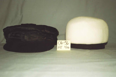 Art conservation of silk harness racing cap, support of artifacts, archival materials, museum storage, internal support