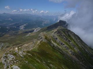Panorámica de Sierra de Peña Labra desde el Pico Tres Mares