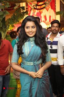 Actress Anupama Parameswaran Stills in Stylish Saree at Shatamanam Bhavathi Audio Launch  0013.JPG