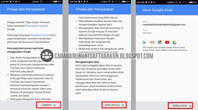 Daftar Akun Google