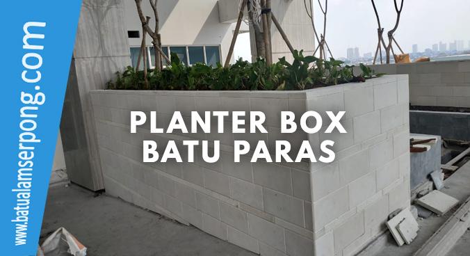 planter box batu alam