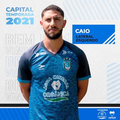 Capital-DF contrata lateral esquerdo que tem vários acessos no futebol goiano