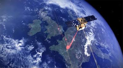satélite espacial para internet
