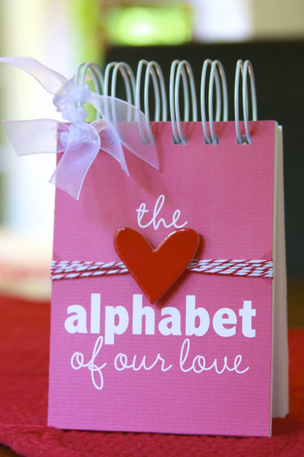 #alphabet #love #anniversary #gift #birthday #reasons #heart
