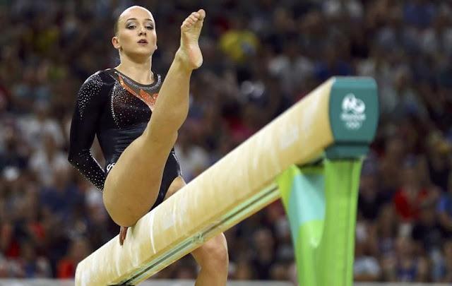 Sanne Wever da Holanda ouro na trave na Rio 2016
