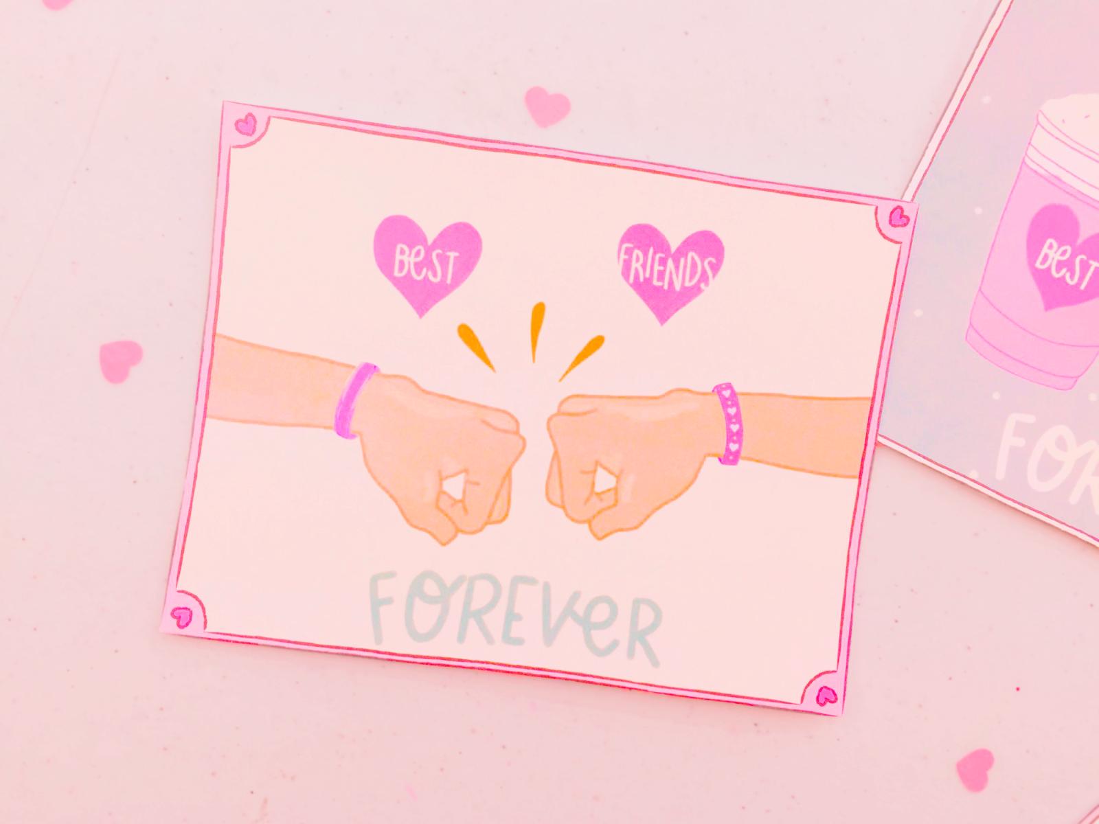 Best Friends Forever Printable Tarjetitas Para Tu Mejor Amiga