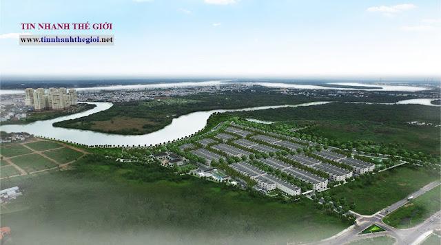 Dự án Nine South Estates cập nhật chính sách bán biệt thự ven sông