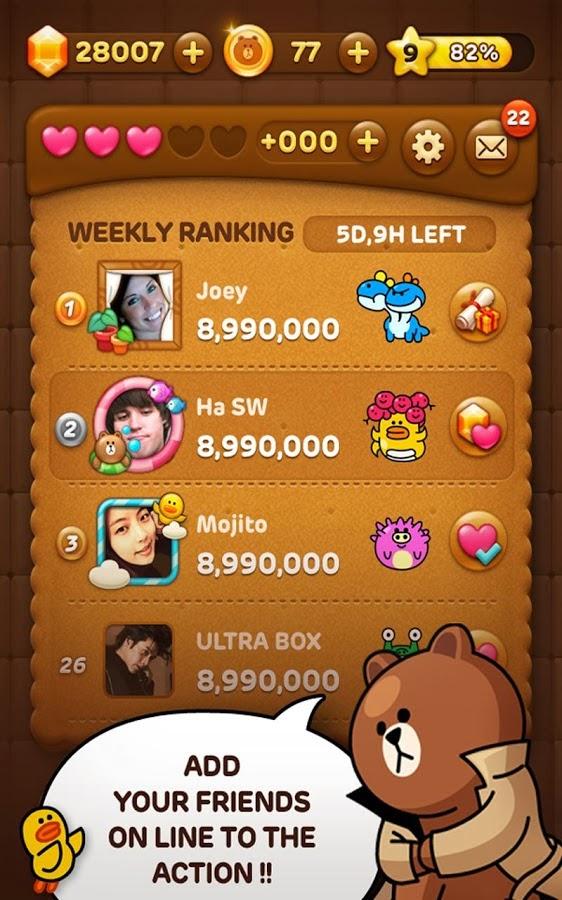 [Android 遊戲] LINE POP v2.4.0 (2014.4.8)「LINE」人氣角色向您呈獻精彩的消消樂遊戲 - 軟體罐頭