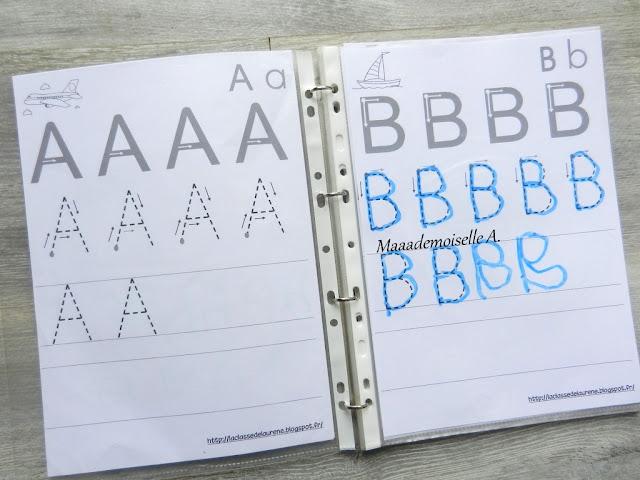 || Apprendre à écrire les lettres et les chiffres