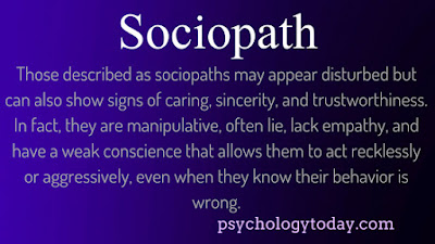 sociopath, sociopathy, definition, abusive, manipulation