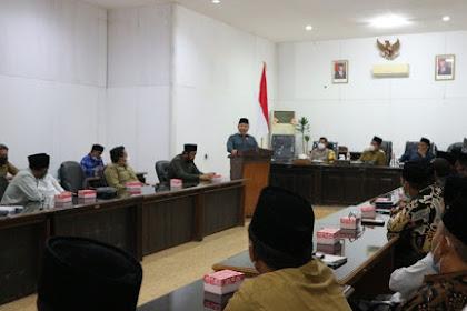 Wabup Lombok Utara Hadiri Halal Bihalal DPRD