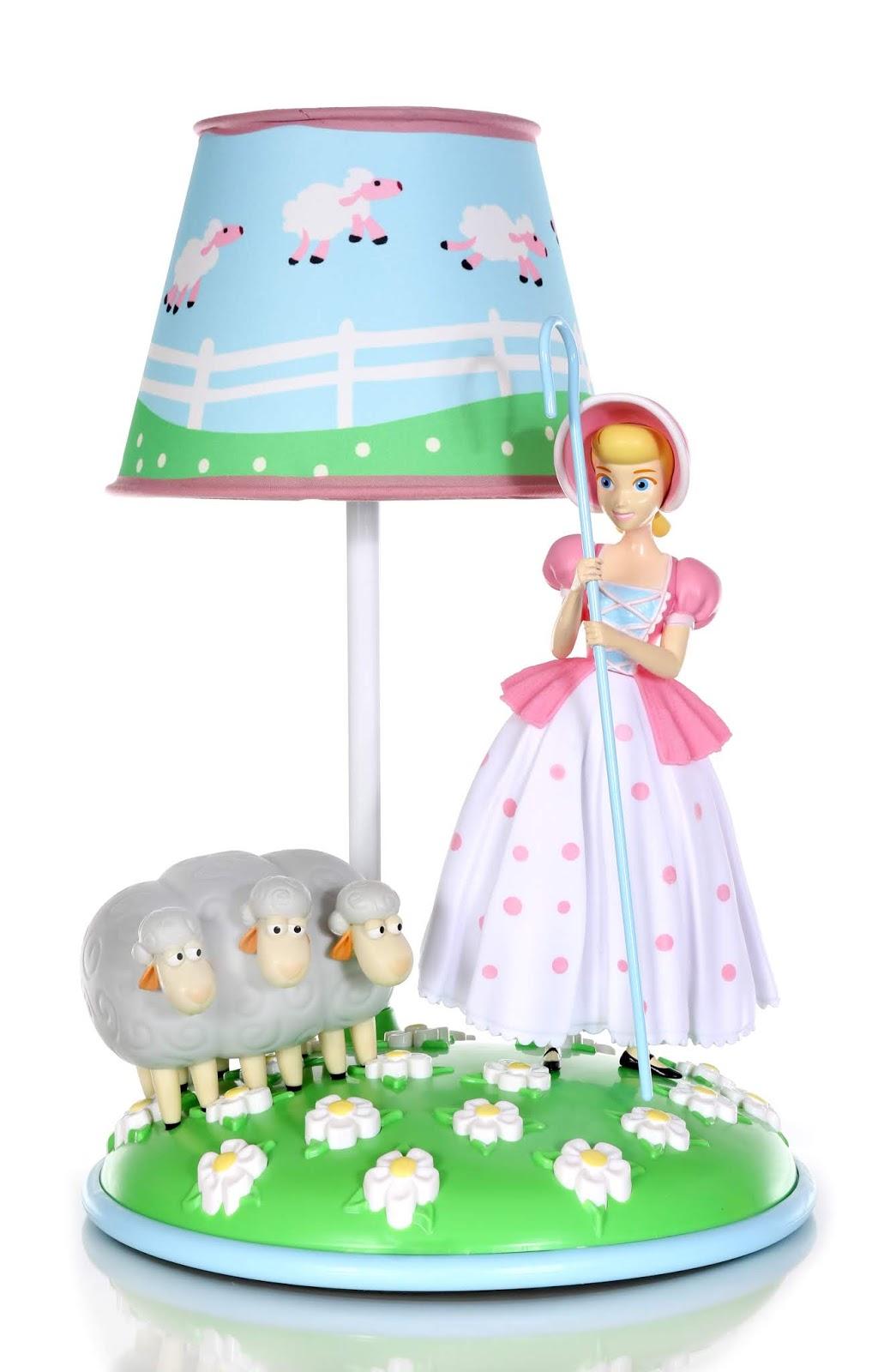 Dan The Pixar Fan Toy Story 4 Bo Peep And Sheep Table