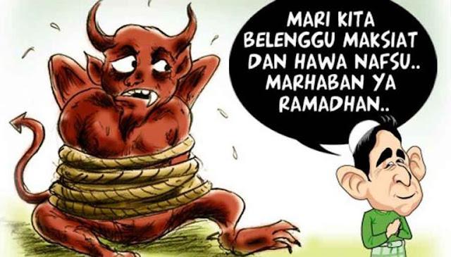 Jika di Bulan Ramadhan Setan dibelenggu, Mengapa Masih Ada Maksiat?