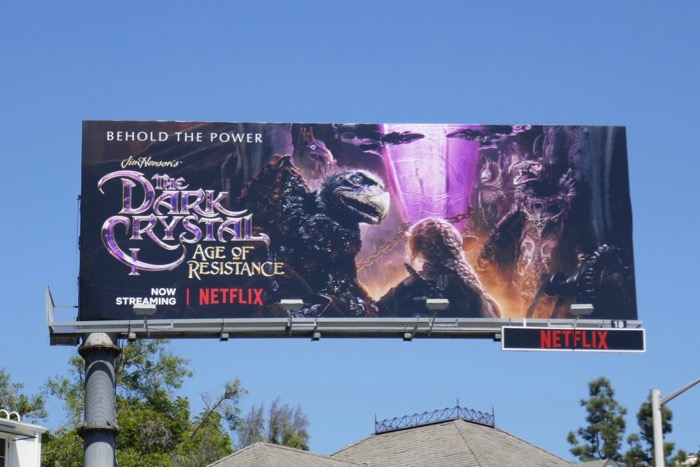 Dark Crystal Age of Resistance billboard