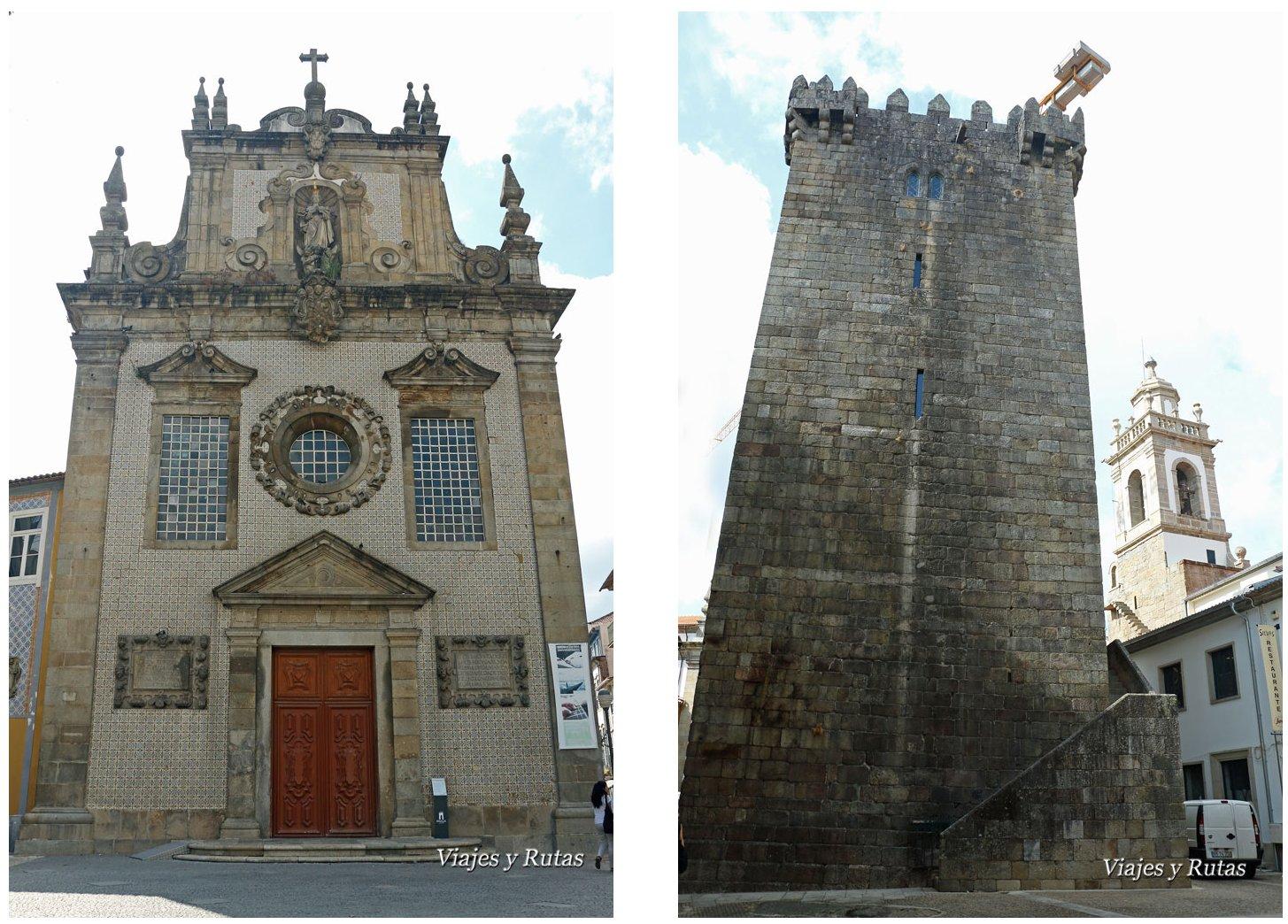 Torre del homenaje e iglesia de los terceiros, Braga