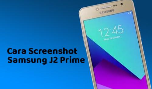 2 Cara Screenshot HP Samsung J1 Prime Dengan Mudah