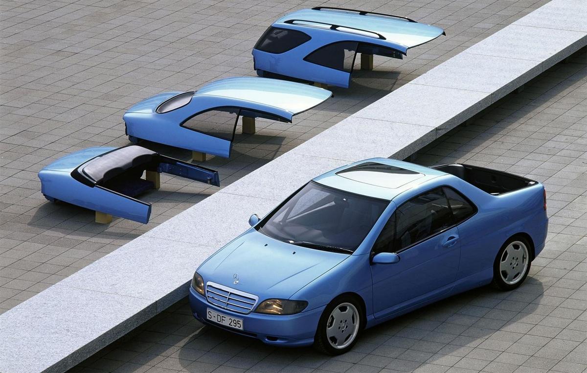 Mercedes VRC - ôtô biến hình như robot