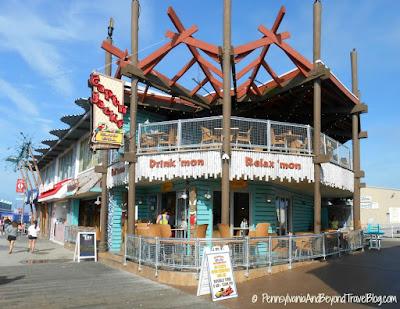 Capt'n Jack's Island Grill in Wildwood