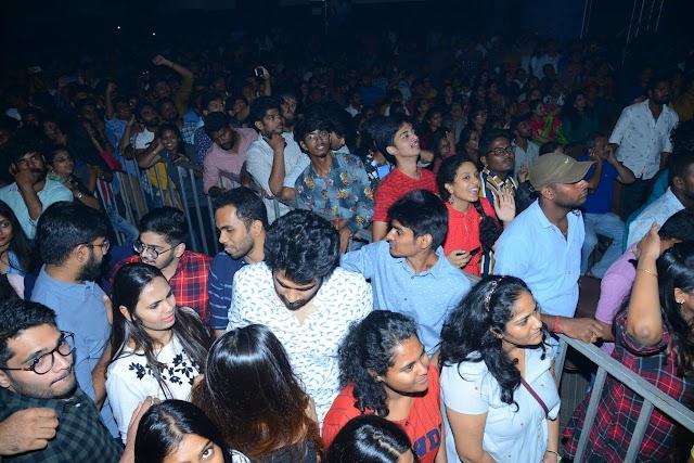 Hero Vijay Deverakonda Dance Performance at Dear Comrade Music Festival - 2