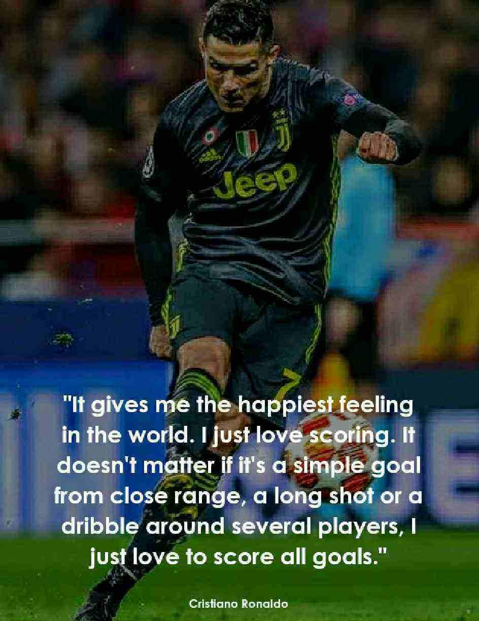 Best cristiano Ronaldo Quotes