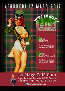 Angers fête la Saint-Patrick