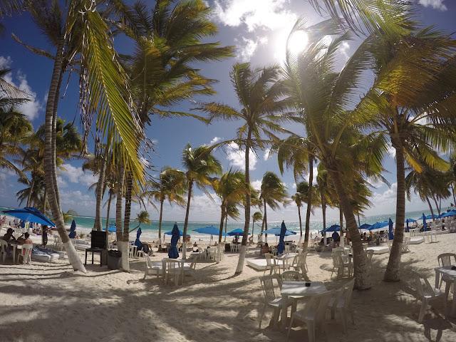 Tulum plaża