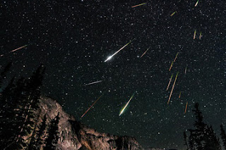 Image of Perseid Meteor Shower 2012. Image by David Kingham