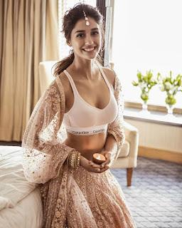 Disha patani in Calvin Klein bra and underwear Panties Navel Queens