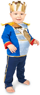 Boys Most Charming Prince Infant Costume for Halloween