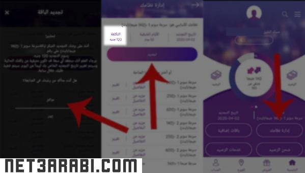 الشركة المصرية للاتصالات الاستعلام عن الفاتورة من الموبايل
