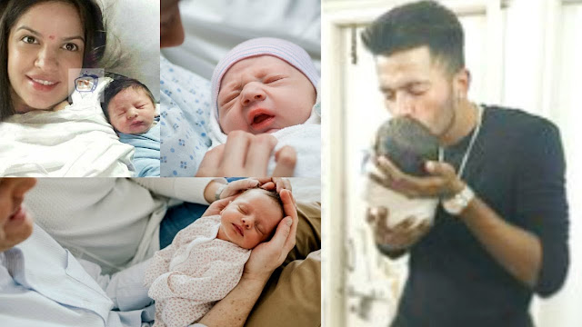 Hardik Pandya blessed with 'baby boy', shares photo,hardik pandya,natasha,indian allrounder,cricketer,trending news,hardik pandya gf,hardik pandya wife