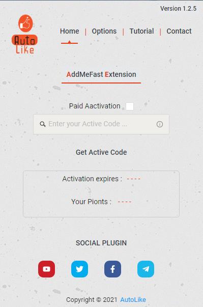 Best Extension like4like and Addmefast - Autolike V 1.2.5