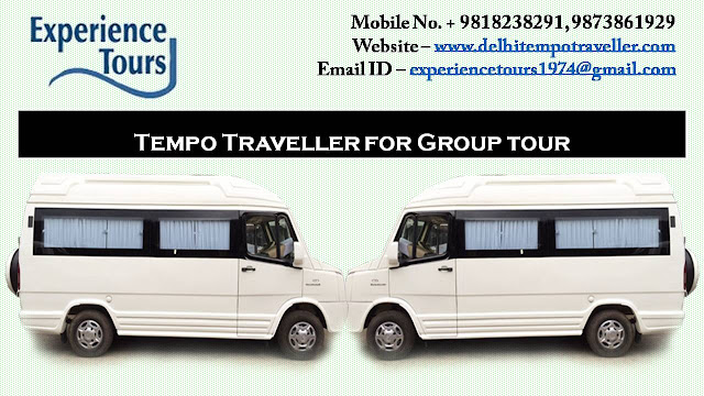 Tempo Traveller on Rent - The Best Way to Take Tours at Your Comfort and Leisure