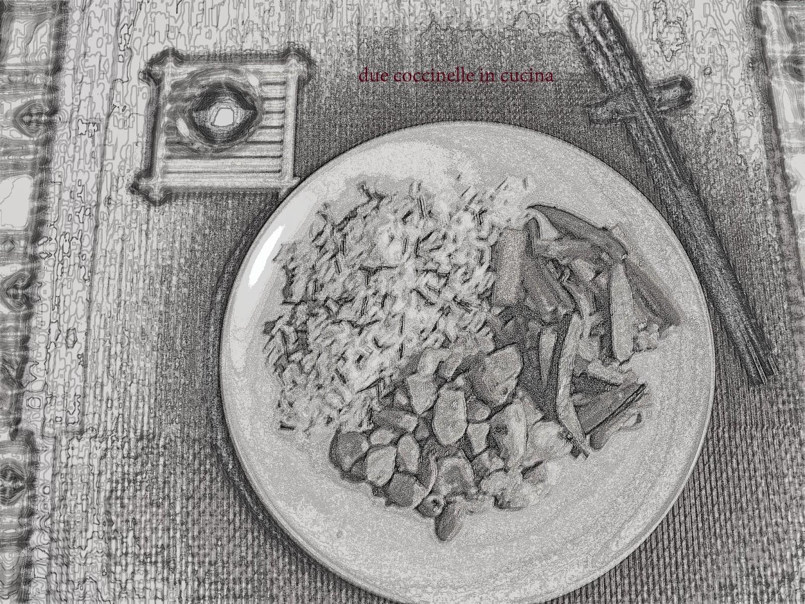 due coccinelle in cucina  Dal Mondo  Pollo alle mandorle con verdure saltate 230f51c0daec