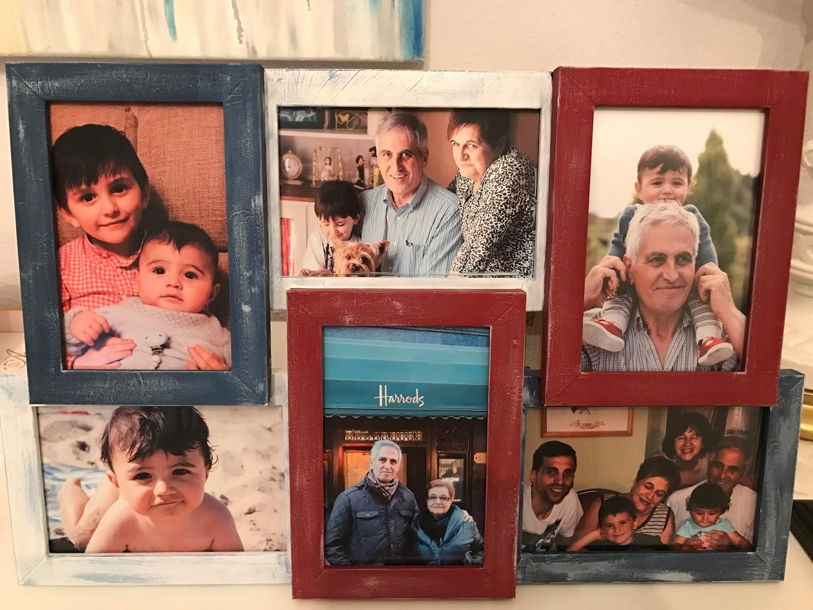 Hermosa Nietos Collage Marco Patrón - Ideas Personalizadas de Marco ...